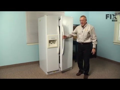 Kenmore Refrigerator Repair – How to replace the Fresh Food Door Gasket