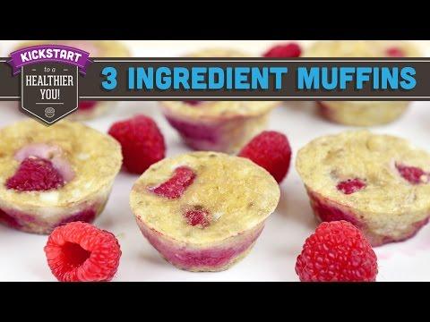 3 Ingredient Berry Egg Muffins! Mind Over Munch Kickstart 2016