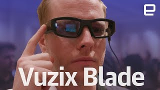 Vuzix Blade hands-on at CES 2018