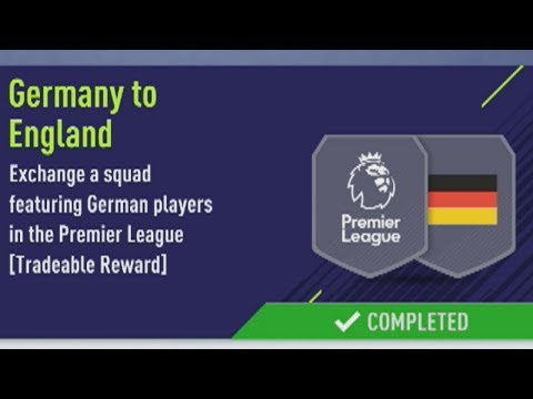 FIFA 18 GERMANY TO ENGLAND SBC CHEAPEST WAY! NO LOYALTY! CULTURAL EXCHANGE SBC CHEAPEST WAY/SOLUTION