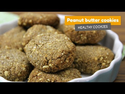 PEANUT BUTTER COOKIES 🍪 • Healthy cookies #3