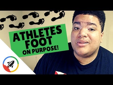 How To Get Athletes Foot [ON PURPOSE]