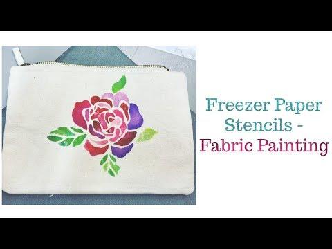 Cricut Fabric Painting