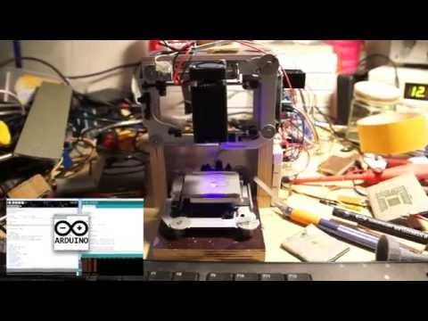 Diy Arduino Laser CNC Engraver and PCB Exposer