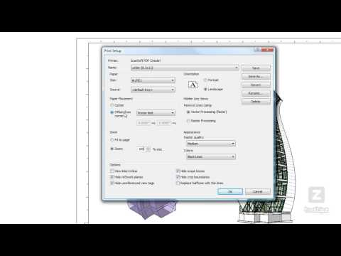 13 Revit Print Setup Command