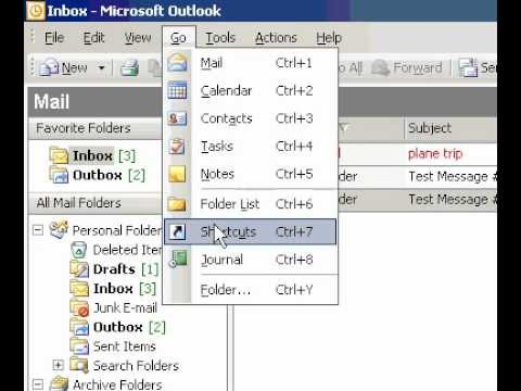 Microsoft Office Outlook 2003 Change the tasks that appear