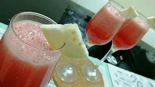 വെറും രണ്ടു മിനുട്ട്  കൊണ്ടൊരു തകർപ്പൻ  ഡ്രിങ്ക് /Easy refreshment /welcome drinks