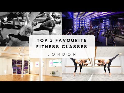 Top Five Favourite Fitness Classes in London | Georgie Ashford