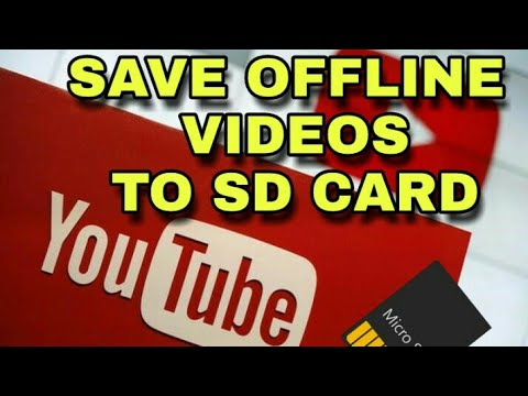 Save YouTube Offline videos to SD CARD