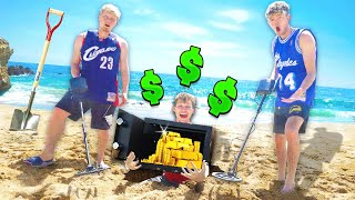 FIND BURIED TREASURE WIN $3,000 METAL DETECTOR HUNT