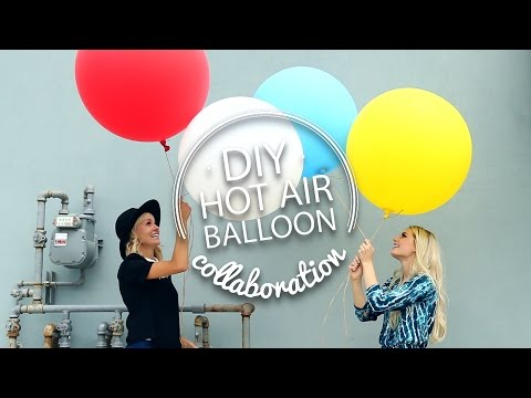 DIY Hot Air Balloon || Aspyn Floats!
