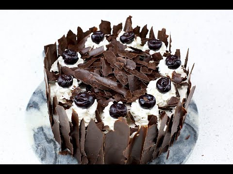 Black Forest Cake - A Step by Step Guide to making a DELICIOUS CAKE!! (EASY HOMEMADE!)