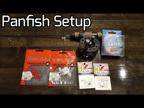 My Panfish Setup for Ice Fishing