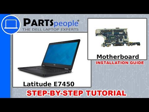 Dell Latitude E7450 Motherboard Replacement Video Tutorial