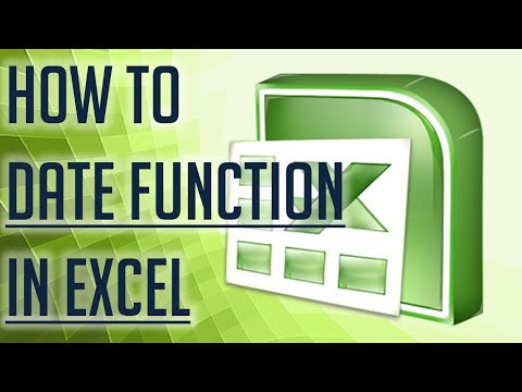 [Free Excel Tutorial] HOW TO USE DATE FUNCTION IN EXCEL- Full HD