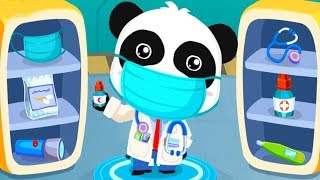Baby Panda's Brave Jobs - Learn And Play Fun Policeman, Fireman, Astronaut, Doctor With Babybus Game