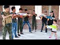 Superhero Action SWAT GIRL Nerf Guns Diamond Robbery Hero Man Rescue Lady Nerf War