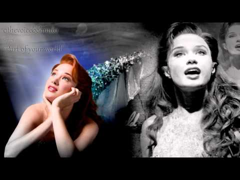 【Me Singing】 ♪Part of your world♪ [The little mermaid on Broadway]