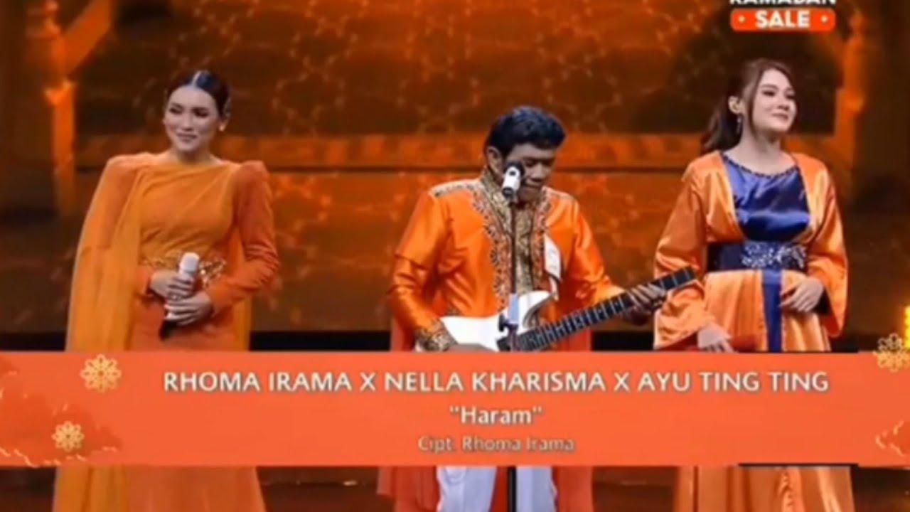 Download Rhoma Irama & Soneta Group Ft. Nella Kharisma & Ayu Ting Ting - Haram (Live) MP3 Gratis