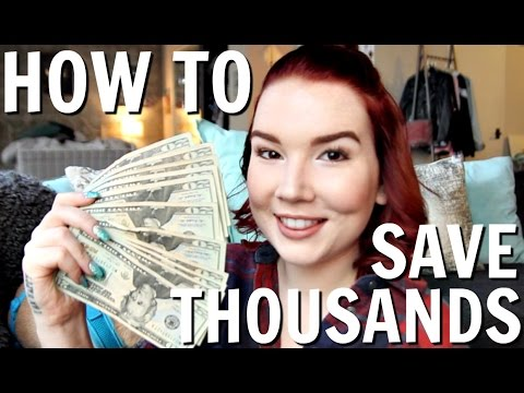 10 EASY TIPS TO SAVE THOUSANDS OF DOLLARS | SAVING $ HACKS