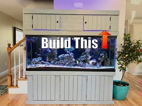 Build an Aquarium Top Cabinet