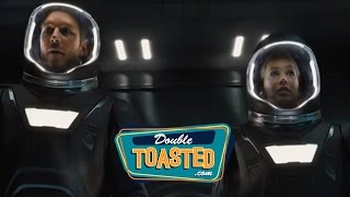 PASSENGERS MOVIE TRAILER REACTION - Double Toasted Highlight