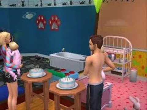 The sims 2-Twins life