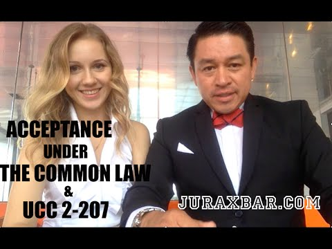 Acceptance Under the Common Law & UCC 2-207