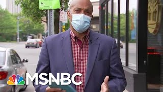 'We Turned A Corner': Original Suburban New York City Hot Spot Reopens | Hallie Jackson | MSNBC