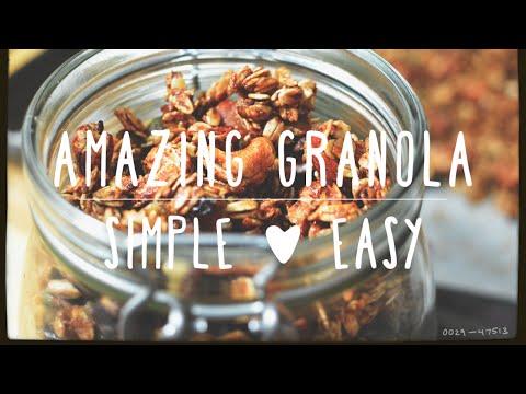 best online granola recipe for beginners guaranteed !