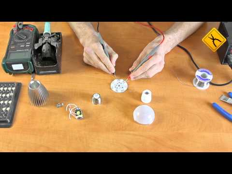 How to Make a LED Light Bulb