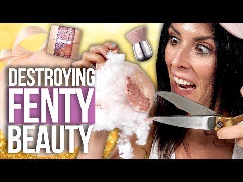 Cutting Open a FENTY BEAUTY Fairy Bomb?! (Beauty Break)