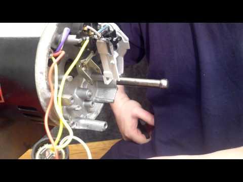 Sta-Rite Max-E-Glas II Pump Motor Switch / Governor Removal