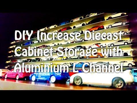 DIY Diecast Cabinet Storage
