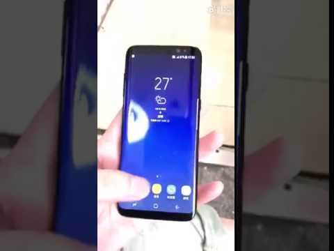 Another Galaxy S8 Hands On Video Leaked