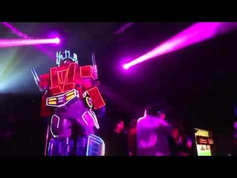 Optimus Prime Dancing @ Club Cosplay Party, Ohm, Hollywood!
