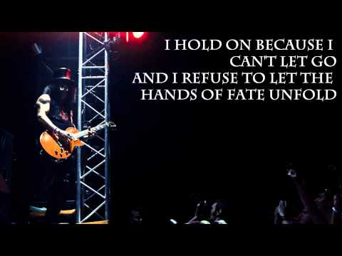 I Hold On by Slash (With Lyrics)