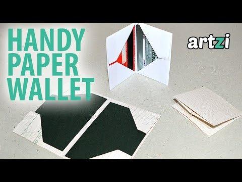DIY Origami Paper Wallet