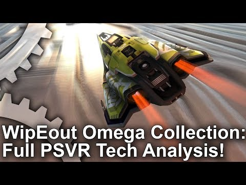 WipEout Omega Collection PSVR Analysis: A Zero Compromise Port?