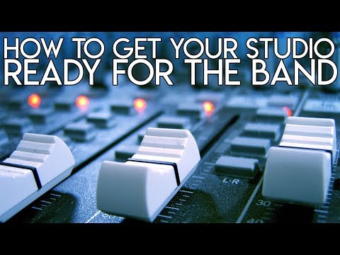 How to get your STUDIO ready for the BAND | SpectreSoundStudios TUTORIAL