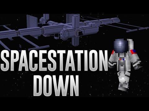 Minecraft Machinima | SpaceStation Down | Part 1