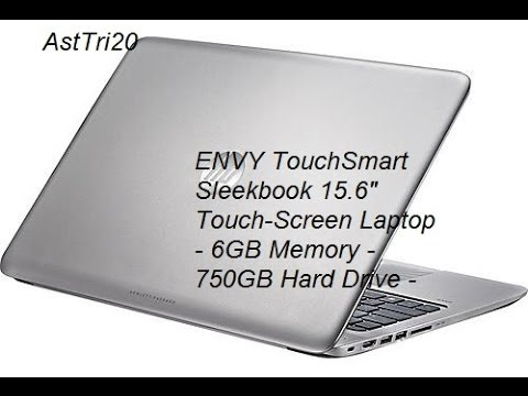 HP- (Unboxing and Review) -ENVY TouchSmart Sleekbook 15.6