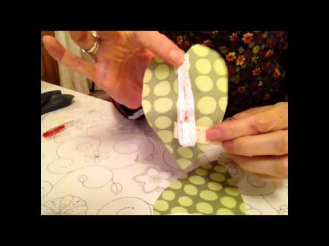 how to sew a fabric heart