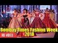 Magnificent Ramp Walk By Urvashi Rautela At Bombay Times Fashion Week 2018