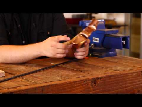 How To Make A Bow Weapon - DIY Slingshot Bow
