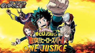 BRAND NEW!! My Hero Academia: One's Justice - HD + TRANSLATED Scans! (PS4/Switch) NEW CONSOLE GAME!