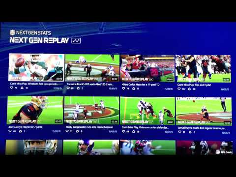 NFL app for Xbox One (Russian language)