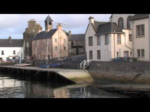 Shetland Islands Hauptstadt Lerwick (Schottland)