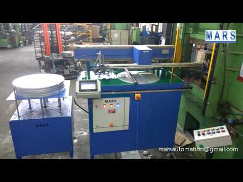 Pick and Place Machine for Cooker Manufacturing Press
