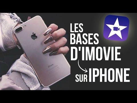➳ Comment Faire un Montage Sur iPhone | LES BASES DE L'APP IMOVIE